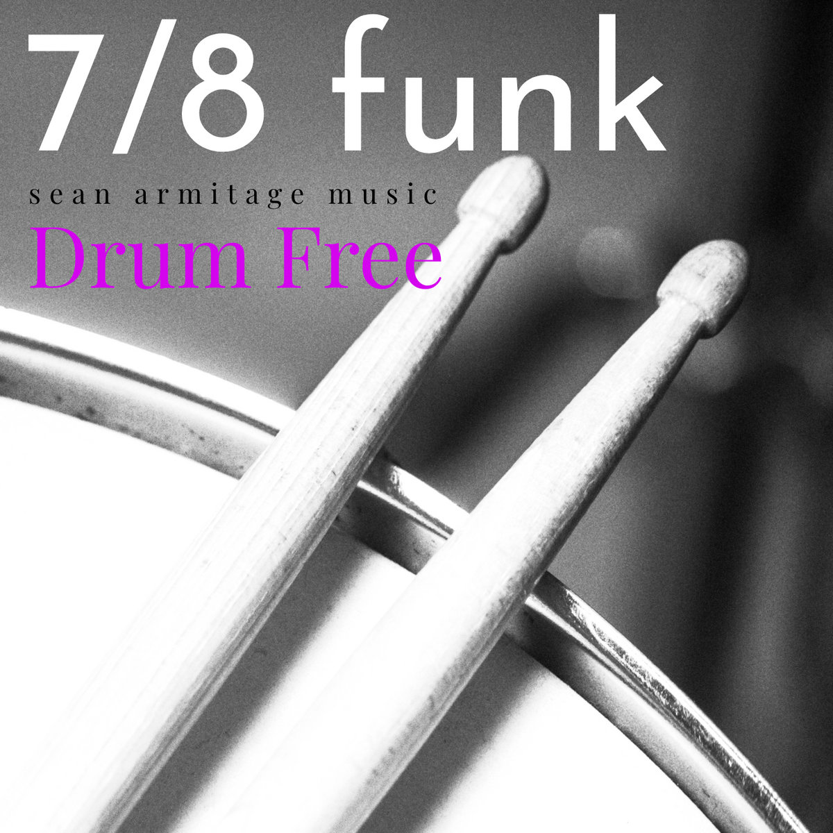 Drumless Backing Track Funk in 7/8 Time (120 BPM) | Sean