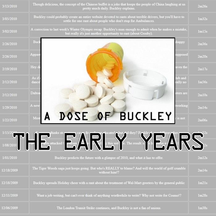 A Dose of Buckley