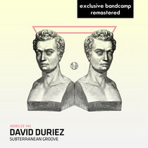 David Duriez - Subterreanean Groove [ 2020 remastered ] including one unreleased mix cover art