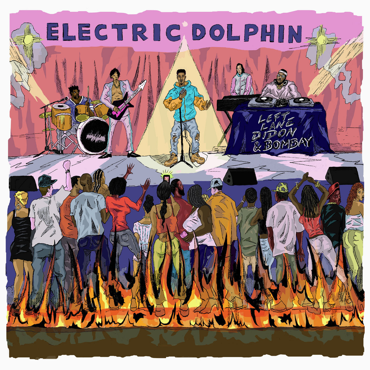 Left Lane Didon, Bombay Da Realest - The Electric Dolphin