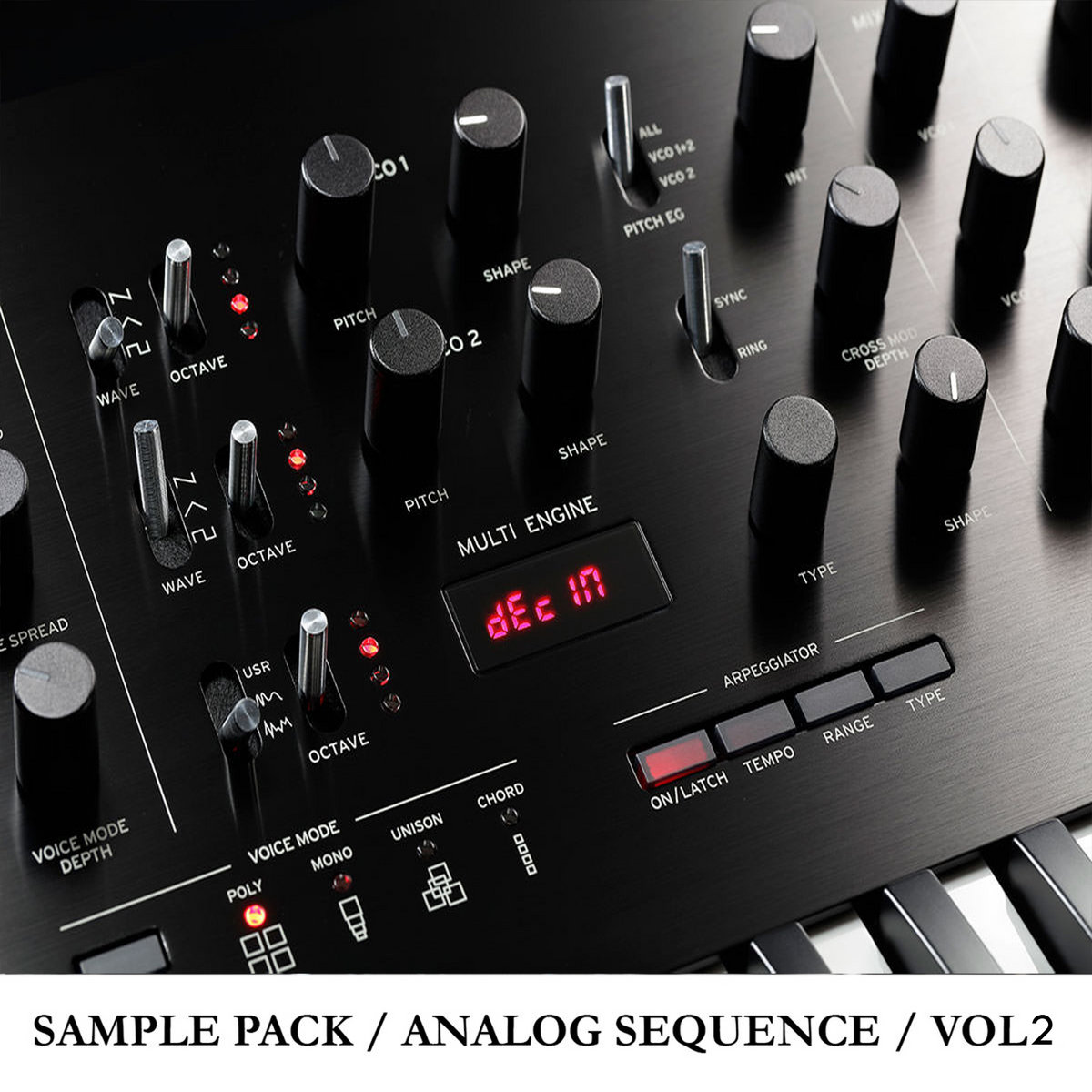 Sample Pack Analog Sequence Vol 02 - 06 SP 4-Audio 8-Audio