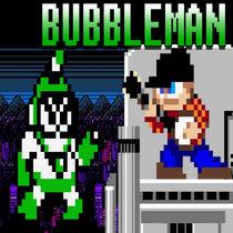 Megaman 2 - Bubble Man cover art