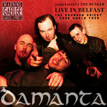 DAMANTA - Live In Belfast (2009) cover art