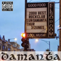 DAMANTA: The Drunken Priest & Other Songs - LIVE IN CHICAGO (2008) cover art