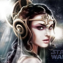 Fly To The Stars (Queen Amidala) cover art