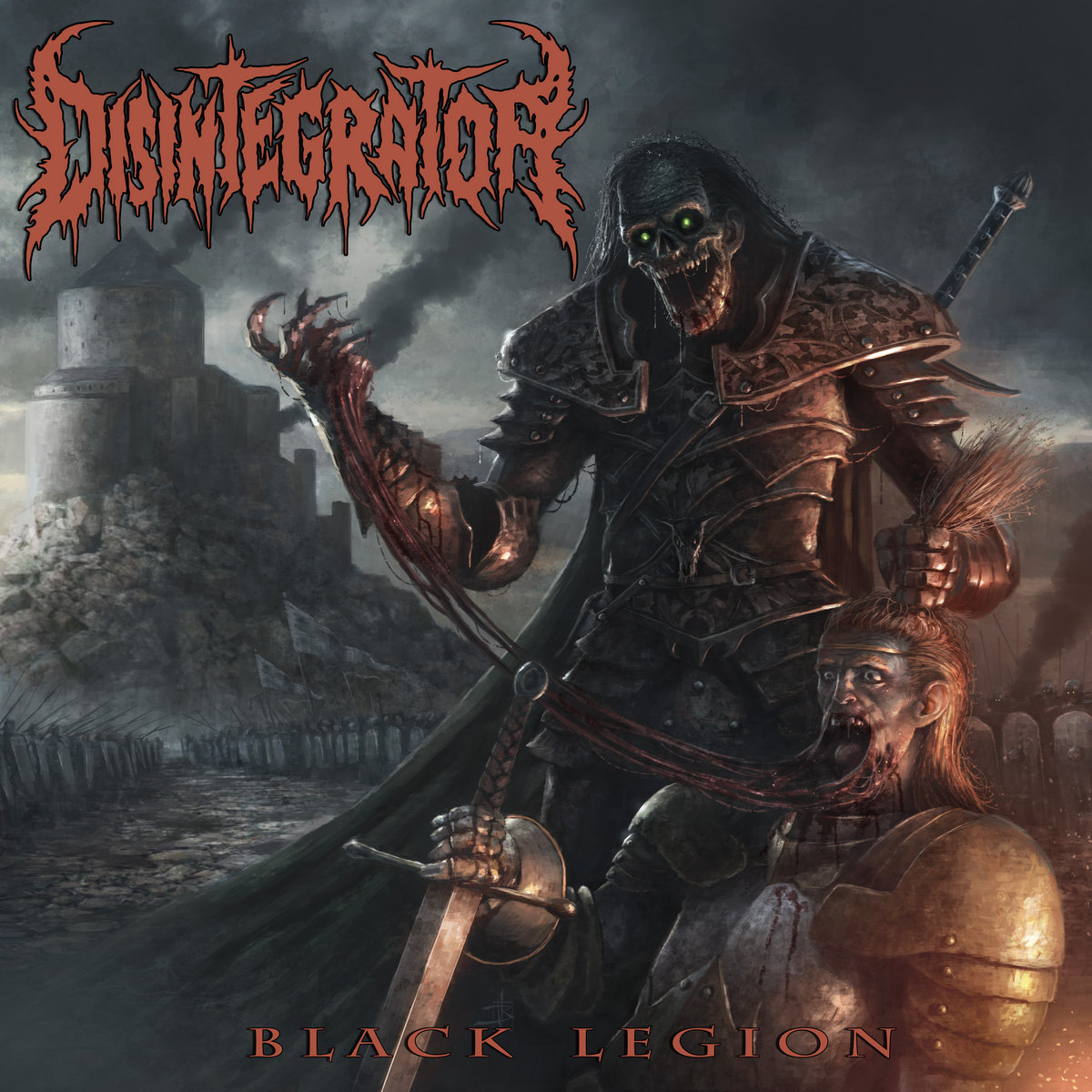 Resultado de imagem para Disintegrator - Black Legion