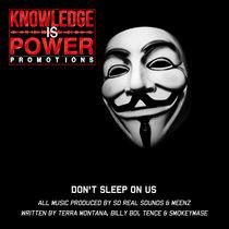 Don't Sleep On Us cover art