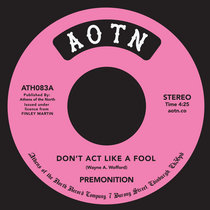 Don't Act Like A Fool cover art