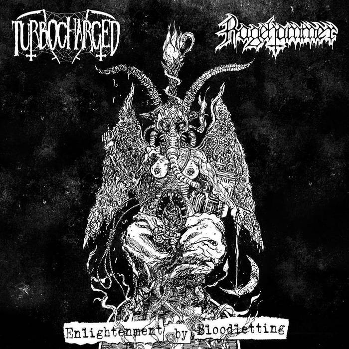 TURBOCHARGED / RAGEHAMMER - Enlightenment by Bloodletting cover art