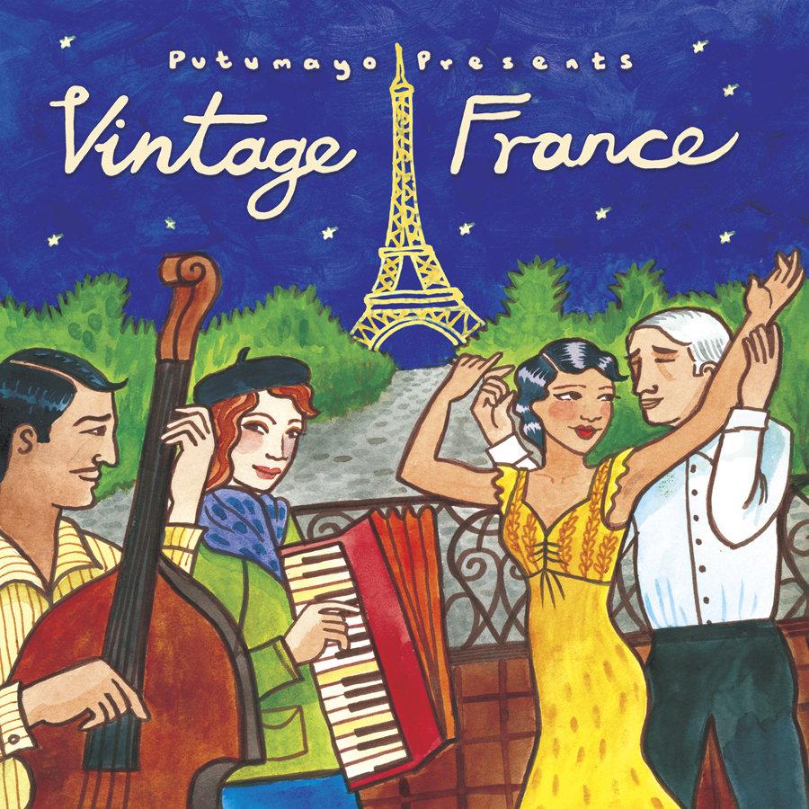 Vintage France   Putumayo World Music