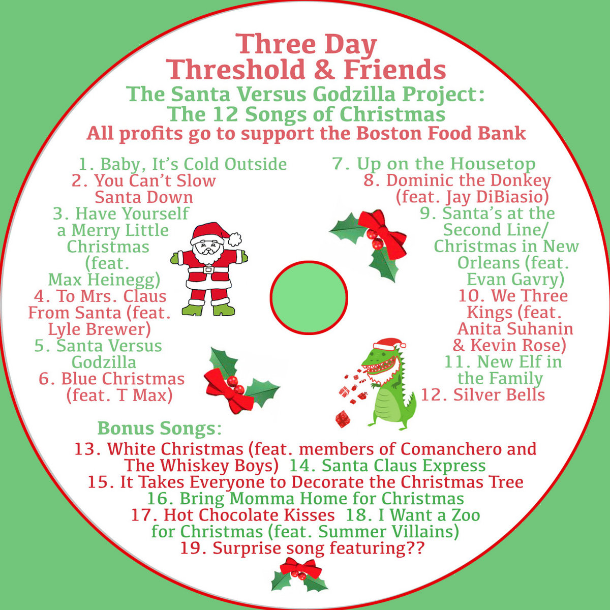 Bonus Song: It Takes Everyone to Decorate the Christmas Tree | Three ...