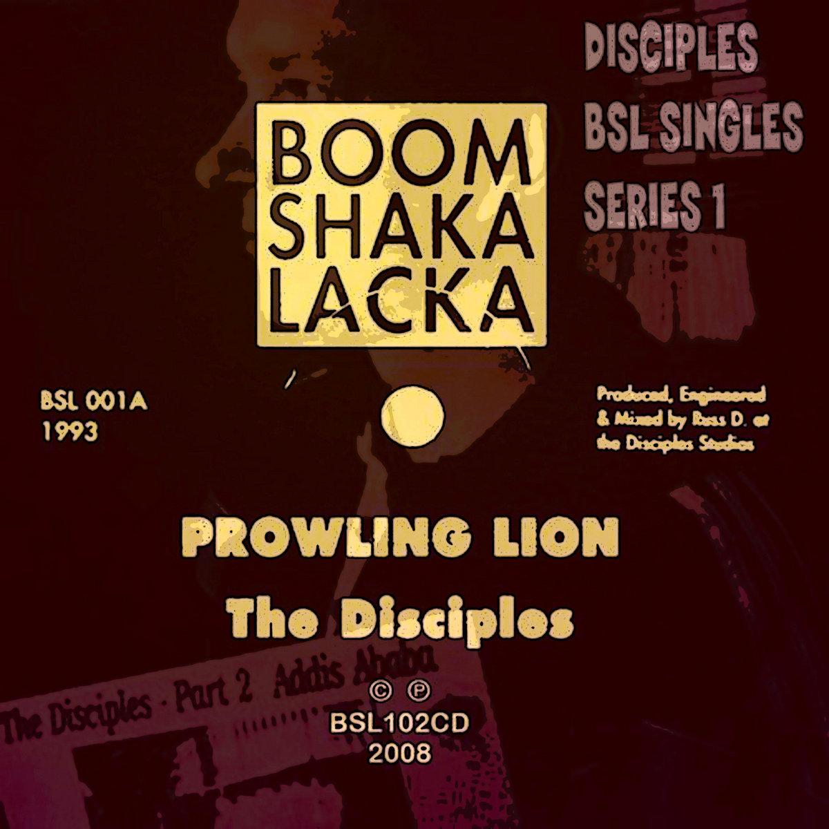 disciples boom shacka lacka singles series 1 the disciples
