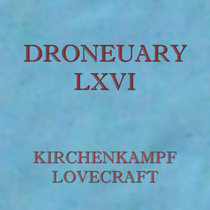 Droneuary LXVI - Lovecraft cover art