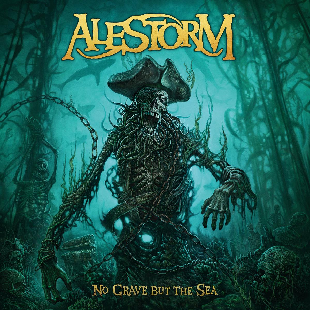 Výsledek obrázku pro alestorm - no grave but the sea 2017 download
