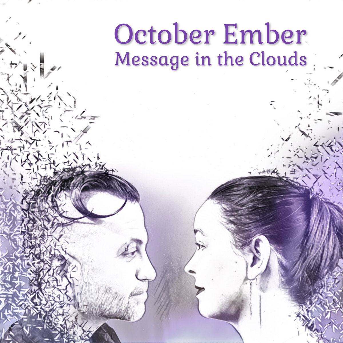 Message in the Clouds by October Ember