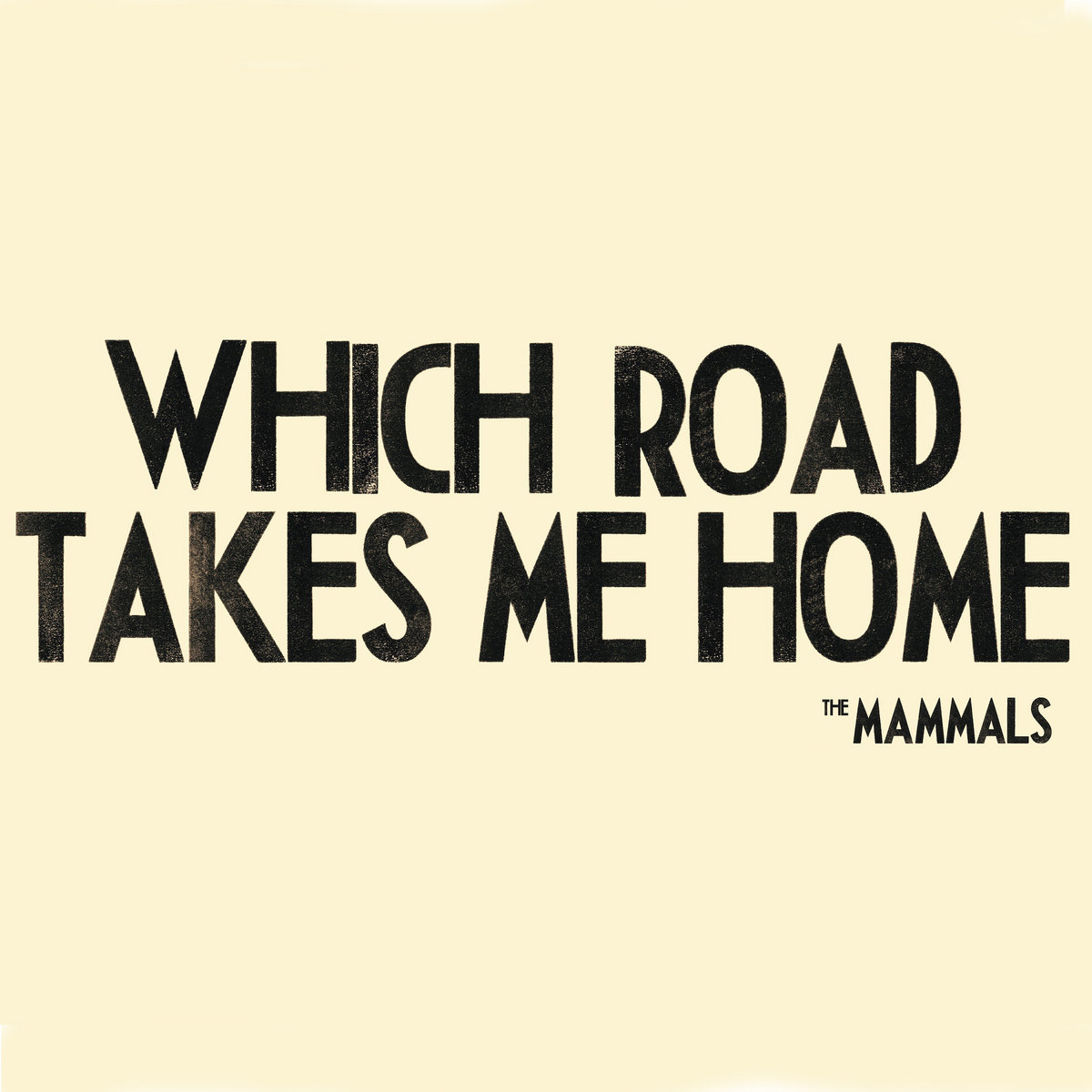 Which Road Takes Me Home   The Mammals