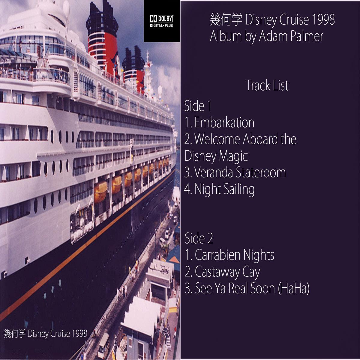 Welcome Aboard The Disney Magic Adam Palmer - Track disney cruise ship