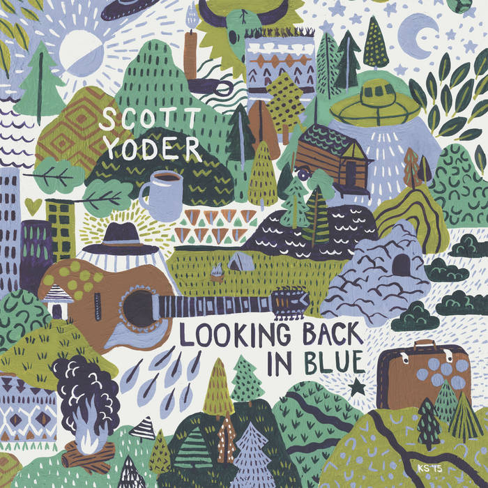 Looking Back In Blue cover art
