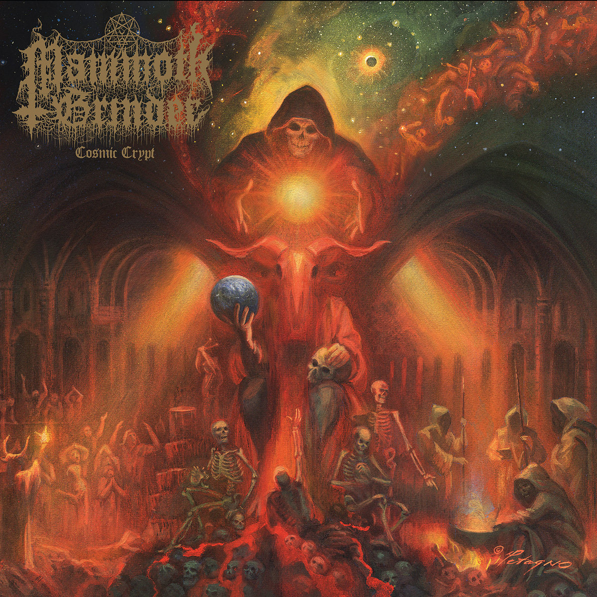 Image result for Mamoth Grinder Cosmic Crypt Album art""