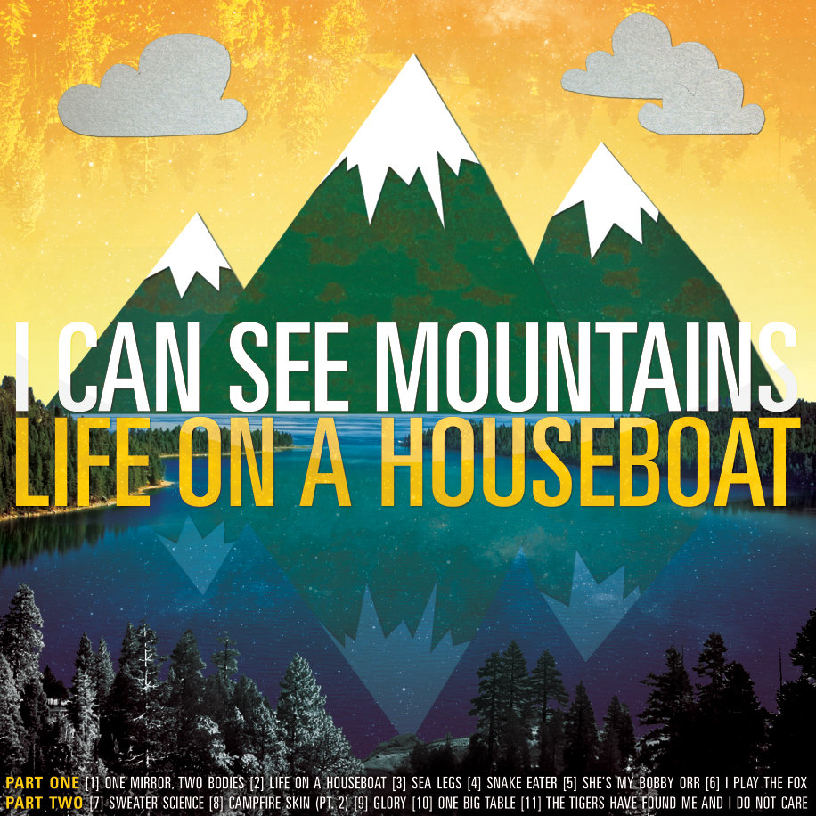 Life On A Houseboat I Can See Mountains - Houseboats vinyl numbers