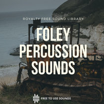 Percussion Sound Effects - Rocks, Lever & Metal cover art