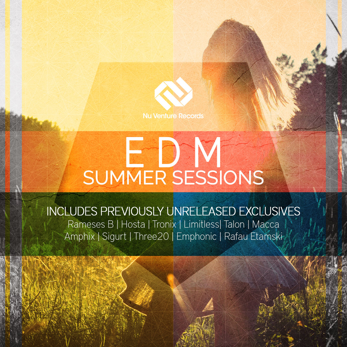 E D M Summer Sessions | 17 Tracks for ONLY £3 50 | Nu Venture Records
