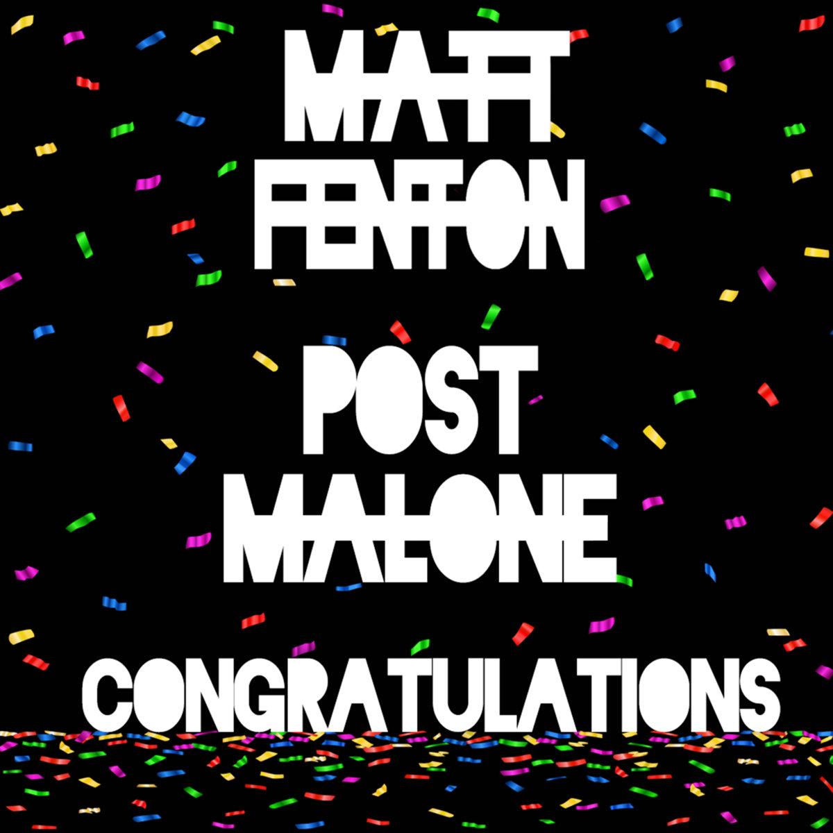 Congratulations (Deep House Remix)   Matt Fenton