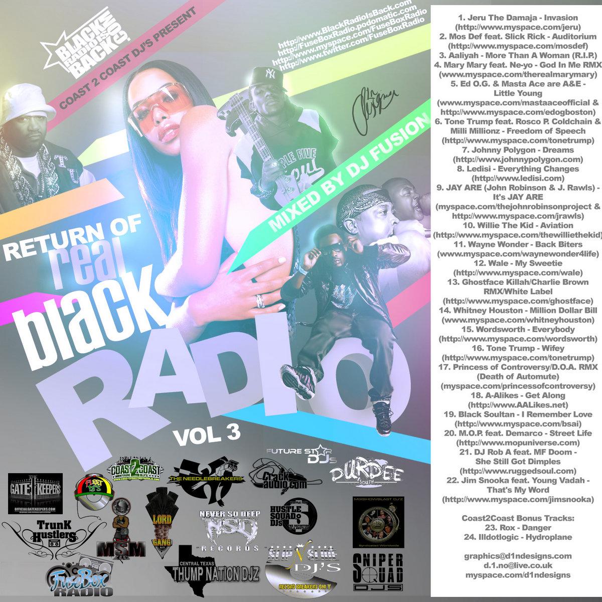 Mos Def Feat Slick Rick Auditorium Fusebox Radio Broadcast W Fuse Box Ads From Coast 2 Djs Present Return Of Real Black Hip Hop Rb Vol 3 By Dj Fusion Jon Judah