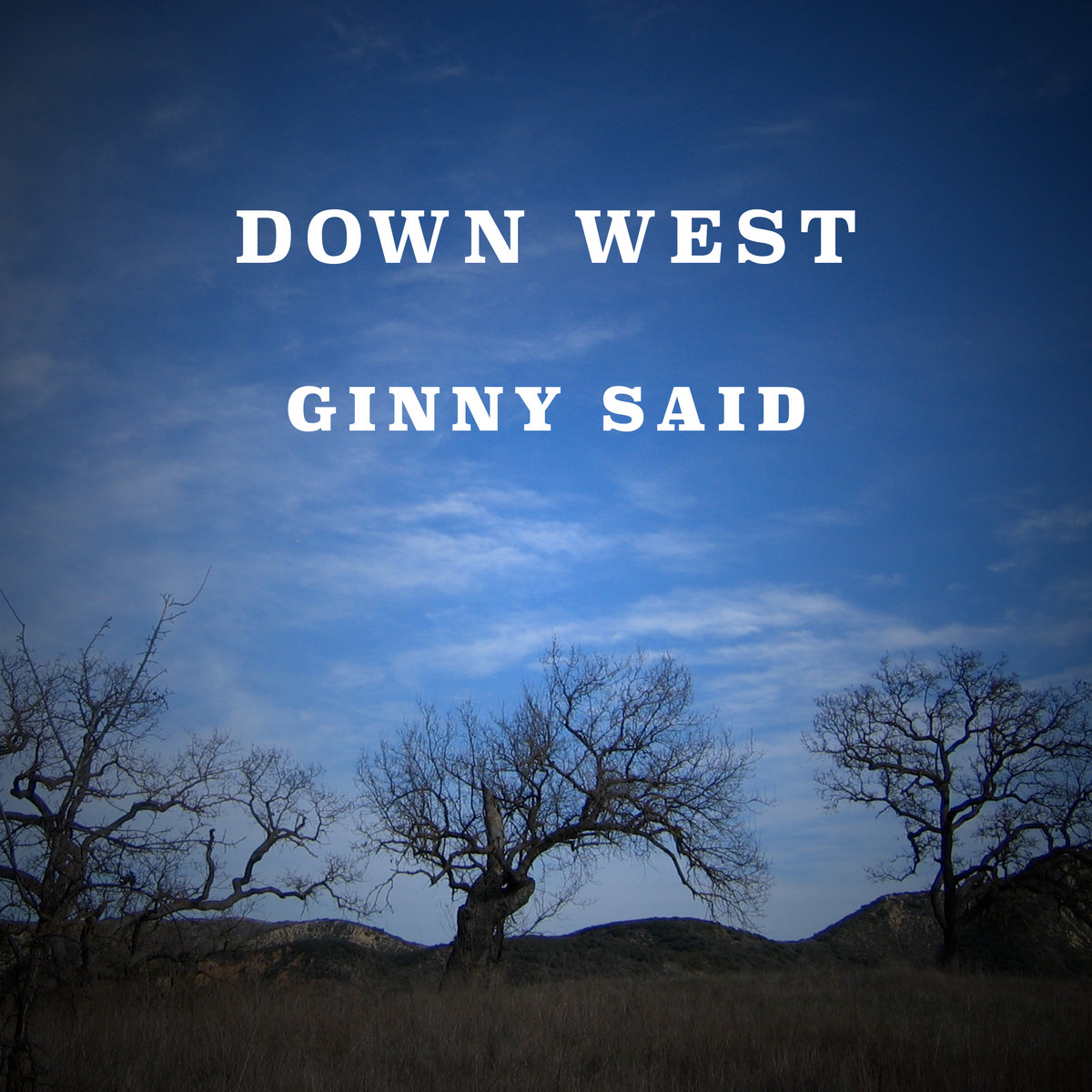 Ginny Said by Down West