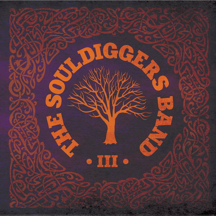 Новый альбом THE SOULDIGGERS BAND - III (2017)