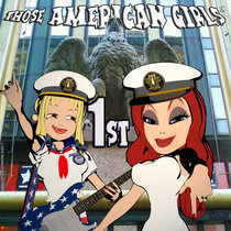 Those American Girls First-Bandcamp version cover art