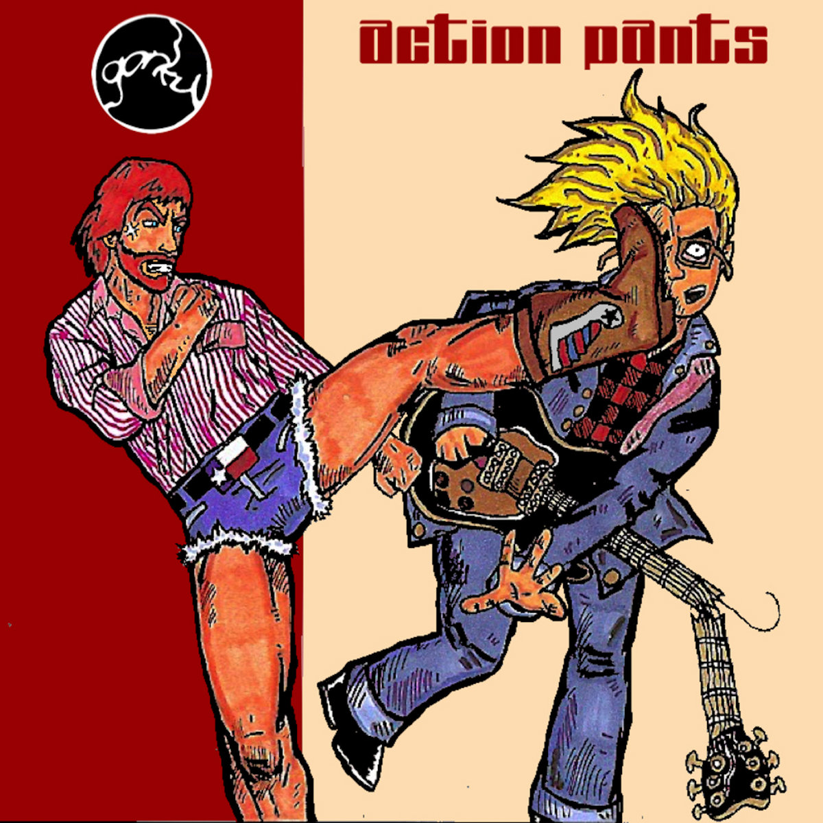 Action Pants by Gorky