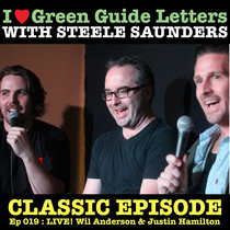 Ep 019 : LIVE! Wil Anderson & Justin Hamilton love the 05/04/12 Letters cover art