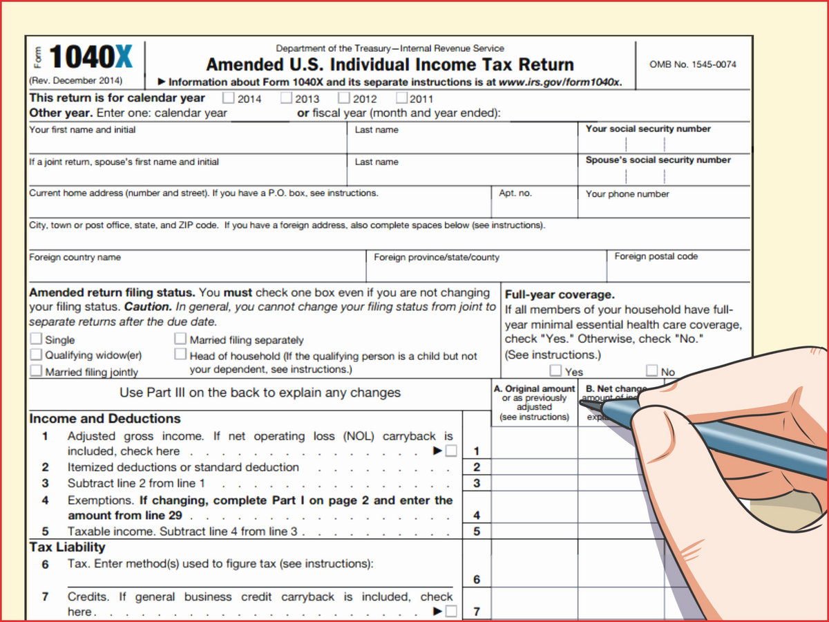 Irs Form 1116 Amt Instructions Tidophyllio