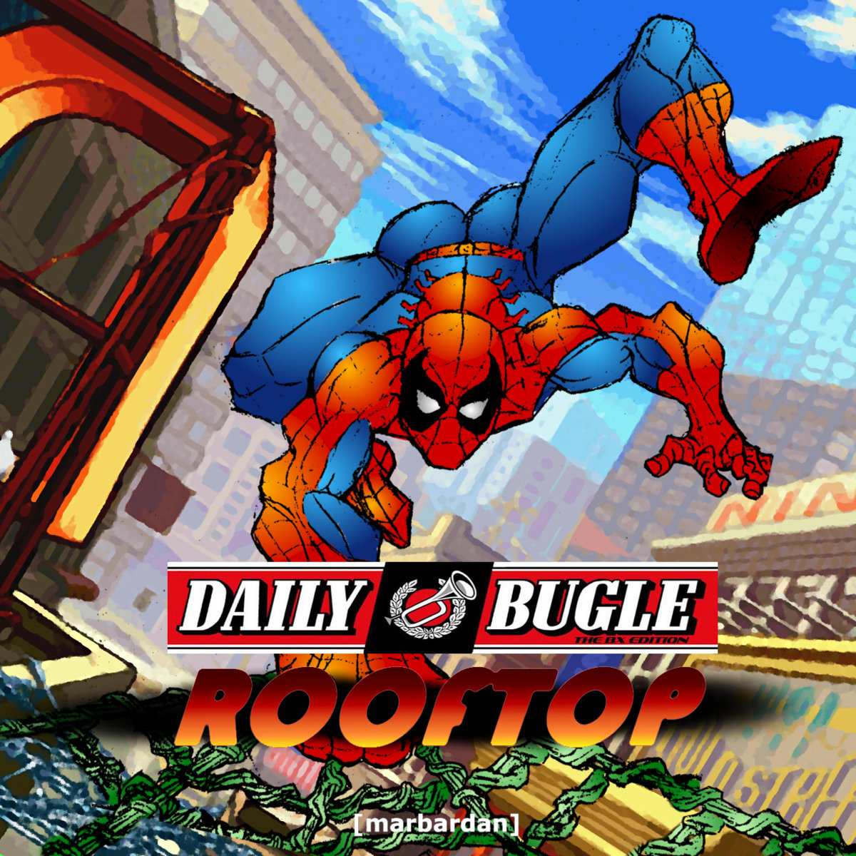 CPS2 Originals -Daily Bugle Rooftop | [marbardan]