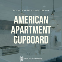 Cupboard Sounds American Apartment Sound Library cover art