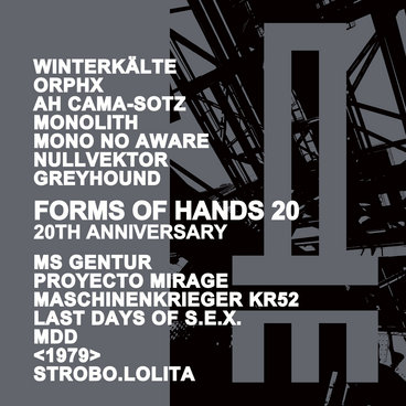 FORMS OF HANDS 20 - 20th Anniversary main photo