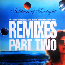 Soldiers Of Twilight - Drive On [David Duriez Remixes] - 2020 remastered edition cover art