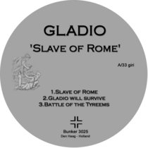 (Bunker 3025) Slave Of Rome cover art