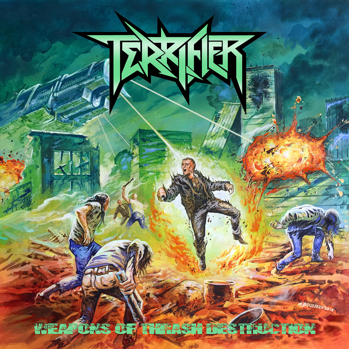 Image result for Terrifier : Weapons of Thrash Destruction