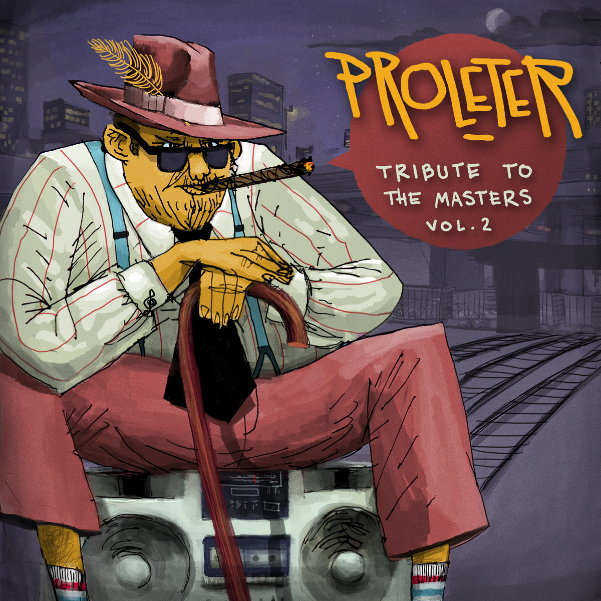 Ray Charles - Hit the road Jack (ProleteR tribute) | ProleteR
