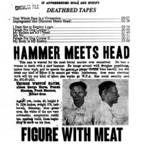 Hammer Meets Head cover art