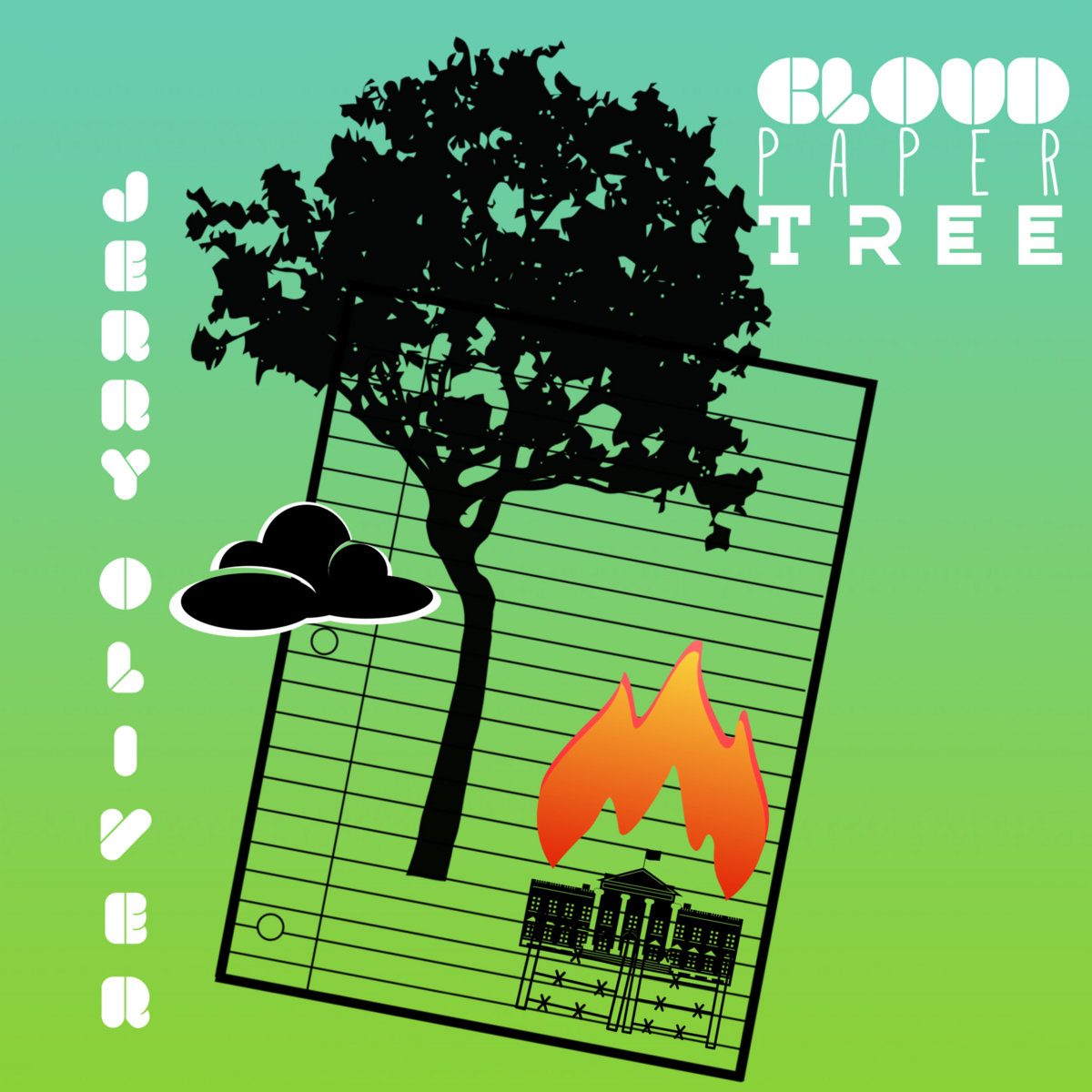 Cloud Paper Tree by Jerry Oliver