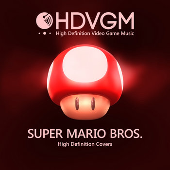 Super Mario Bros - High Definition Covers by HDVGM