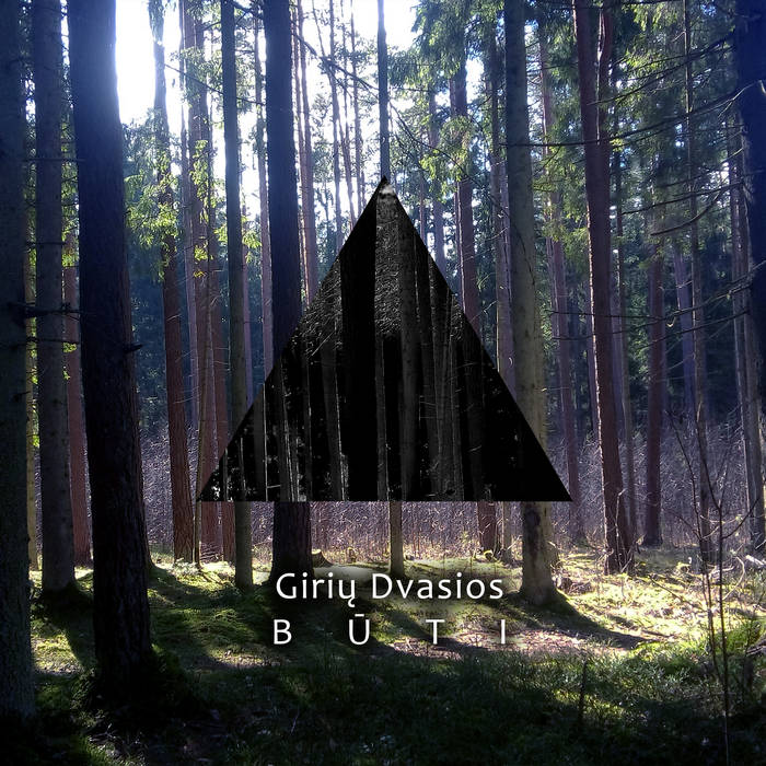 Giriu Dvasios - Buti cover art