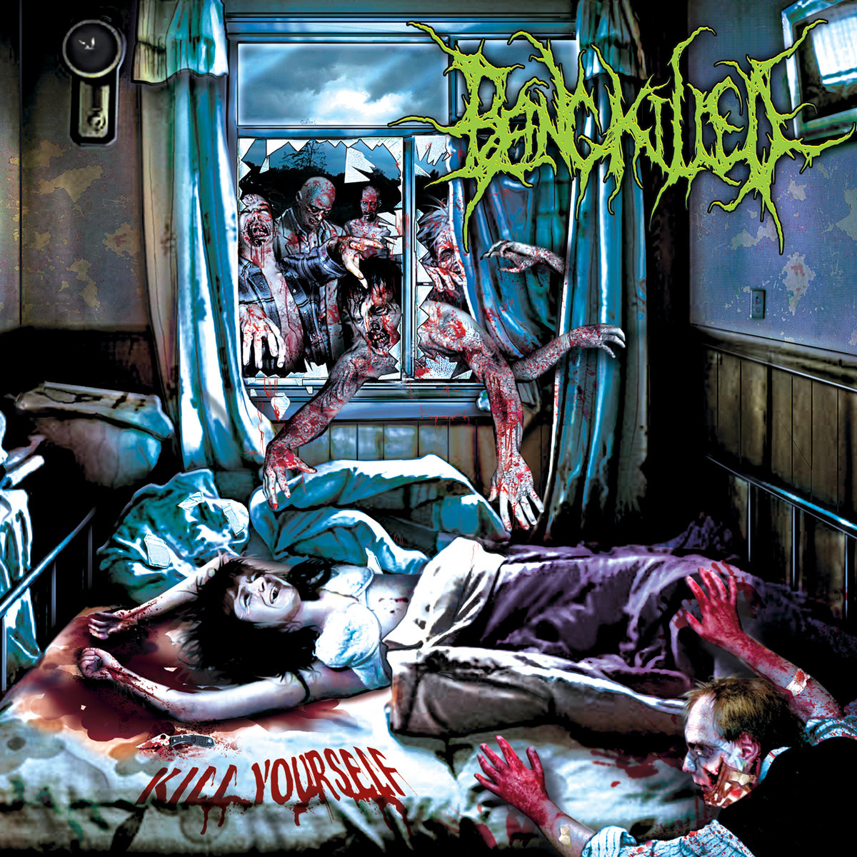 KIll Yourself   BEING KILLED   Comatose Music