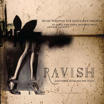 Ravish and Other Tales for the Stage, I cover art
