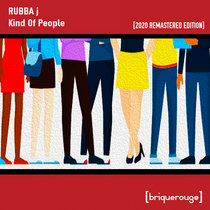 [BR088] : Rubba J - Hot Griddle / Kind Of People [2020 Remastered Special Edition] incl.David Duriez Lunar Disco Remix cover art