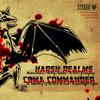 """Harsh Realms / Coma Commander [Split 7""""] Cover Art"""