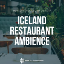 Busy Restaurant Ambience Sounds Iceland cover art